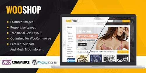 MyThemeShop – WooShop v1.2.4 – Increase Sales With a Modern, Responsive and Highly Professional WordPress WooCommerce Theme