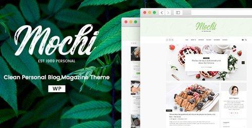 ThemeForest – Mochi v1.0.2 – A Clean Personal WordPress Blog Theme