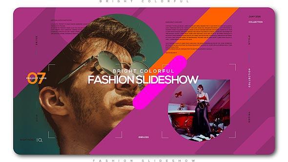 Videohive Bright Colorful Fashion Slideshow 20648054