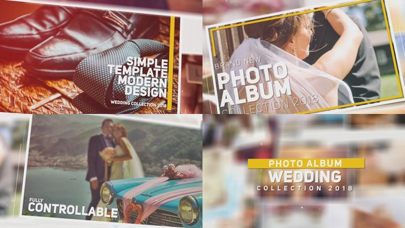 Videohive Wedding Photo Album 21884818