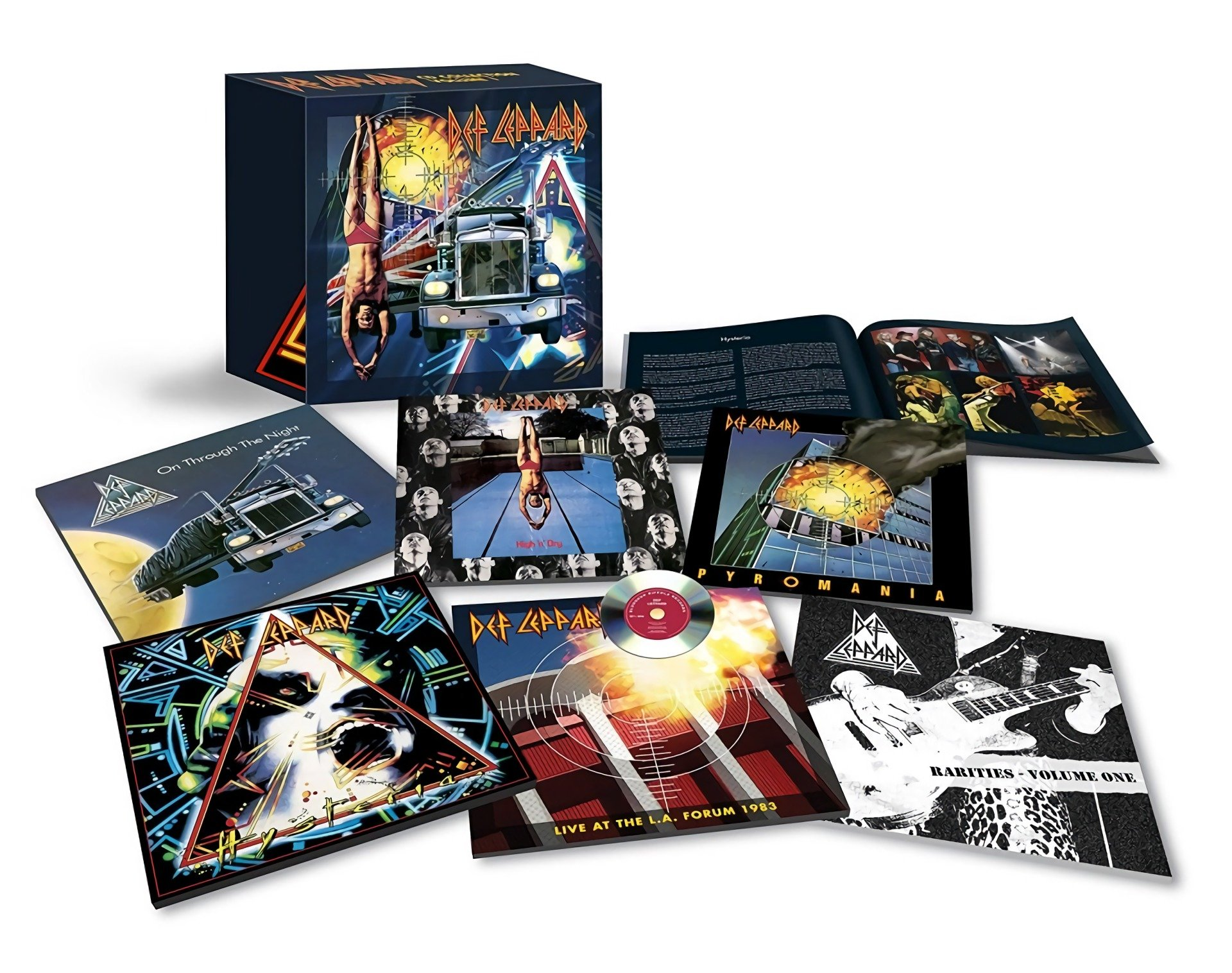 Download Def Leppard Collection Volume One 7cd Box Set