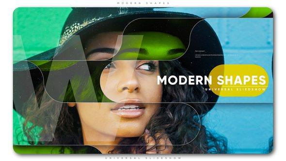 Videohive Modern Shapes Universal Slideshow 21708078