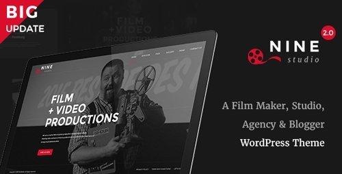 ThemeForest – Nine Studio v2.3.5 – A Film Maker, Studio, Agency & Blogger WordPress Theme