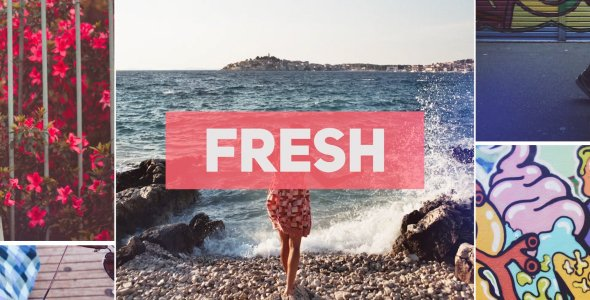Videohive Dynamic Upbeat Opener for Premiere Pro 21460900