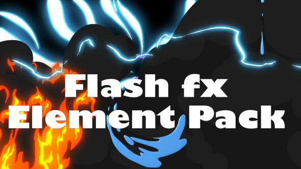 Videohive Flash Fx Element Pack 11989134