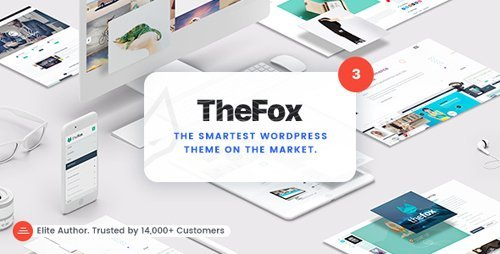 ThemeForest – TheFox v3.4.1 – Responsive Multi-Purpose WordPress Theme