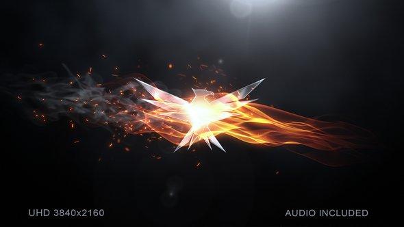 Videohive Elegant Flame Logo 20027959