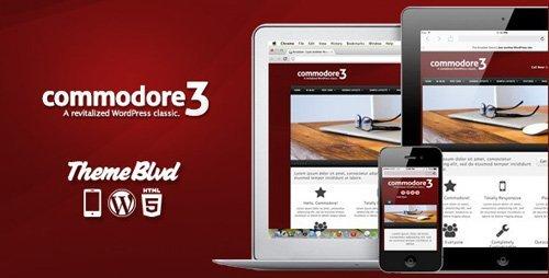 ThemeForest – Commodore v3.0.15 – Responsive WordPress Theme