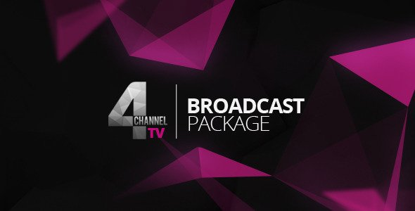 Videohive 4TV Broadcast Package 5869372