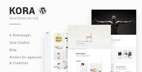 ThemeForest - Kora v2.0 - Portfolio, Agency WordPress Theme - 15670928