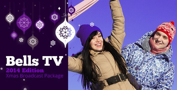 Videohive Christmas Bells TV Broadcast Package 3568979