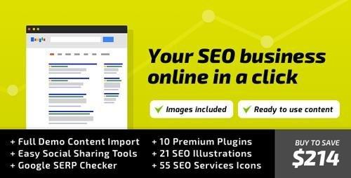 ThemeForest – SEO WP v1.9.5 – WordPress Theme for Digital Marketing Agency, Social Media & SEO Company