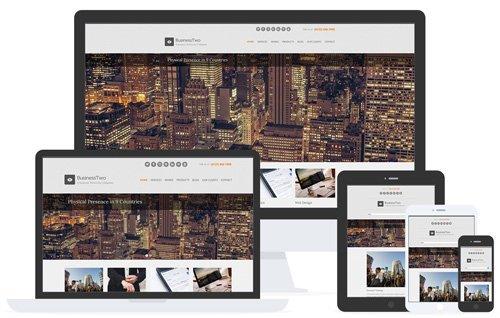 CSSIgniter – BusinessTwo v1.5 – Business / Portfolio WordPress Theme