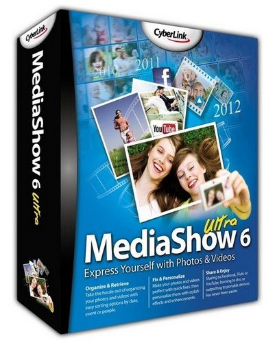 CyberLink MediaShow Ultra 6.0.12916