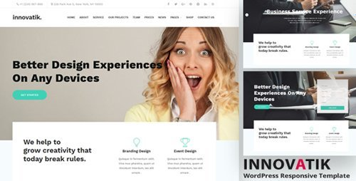 ThemeForest - Innovatik v1.2 - Corporate WordPress Theme - 21006356