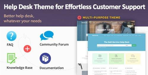 ThemeForest – Manual v3.6 – Multi-Purpose Online Documentation, Knowledge Base & Creative WordPress Theme