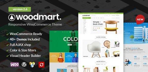 ThemeForest - WoodMart v2.6.0 - Responsive WooCommerce WordPress Theme - 20264492 - NULLED