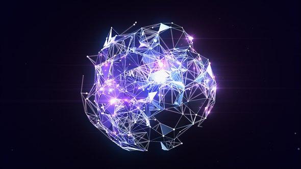 Videohive Plexus Globe Logo Reveal 21817274