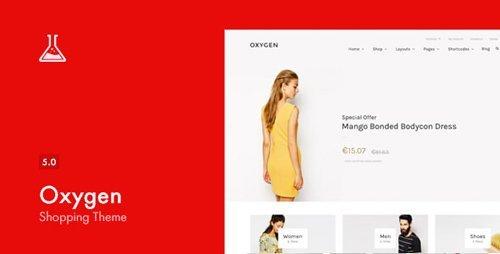 ThemeForest – Oxygen v5.0.3 – WooCommerce WordPress Theme