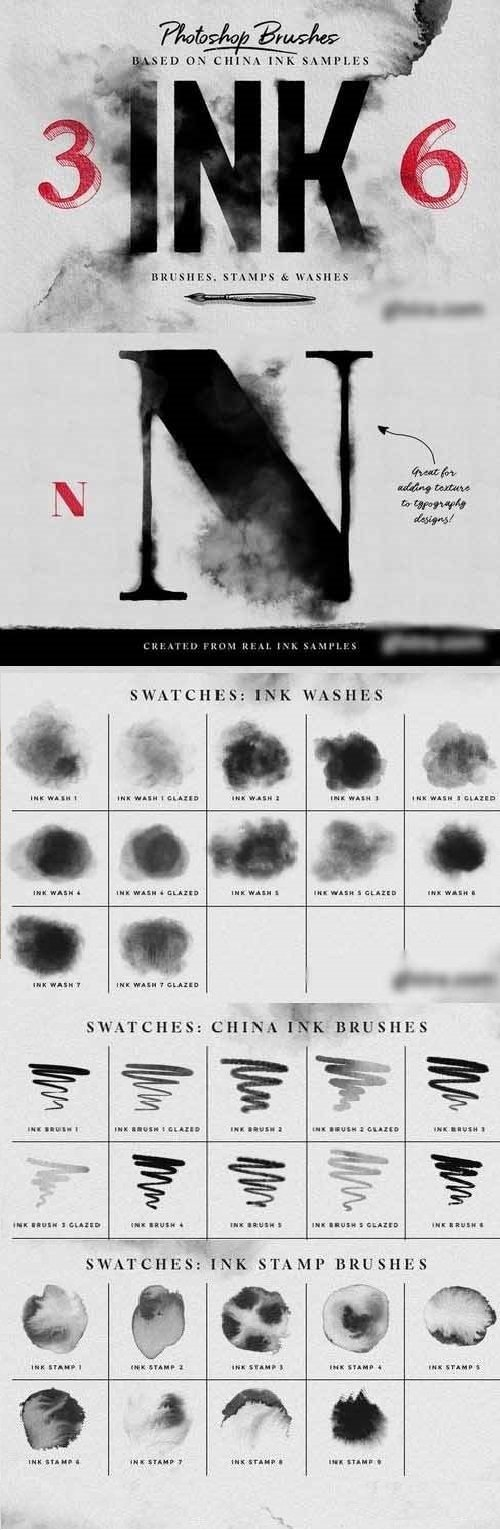 Download Photoshop ink brushes - SoftArchive