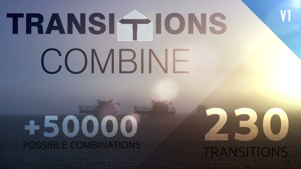 Videohive Transitions Combine | Pack & Toolkit 19483509