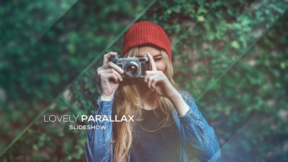 Videohive Lovely Parallax Slideshow 16115724