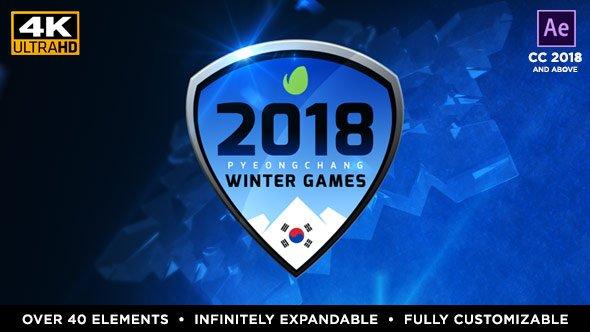 Videohive 2018 Winter Games - PyeongChang 21319052