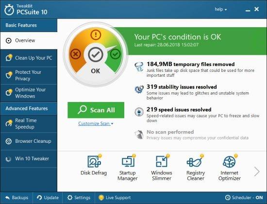TweakBit PCSuite 10.0.12.1 Multilingual