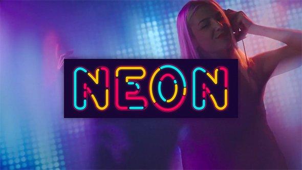 Videohive Neon Alphabet 20933440