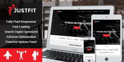 MyThemeShop – JustFit v2.0.5 – Responsive WordPress Theme Built For Fitness, Exercise and Health Enthusiasts