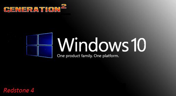 Windows 10 Pro X64 Redstone 4 1803 Build 17134.137 3in1 en-US June 2018