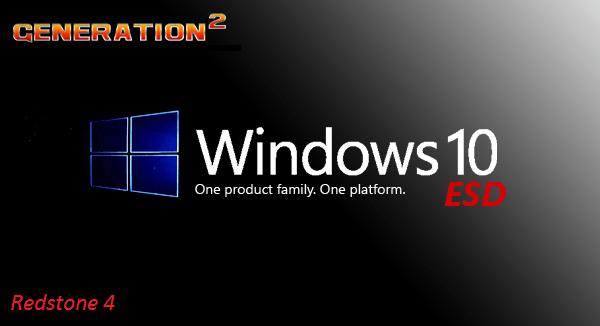 Windows 10 Pro X64 Redstone 4 1803 Build 17134.137  3in1 ESD en-US June 2018-2