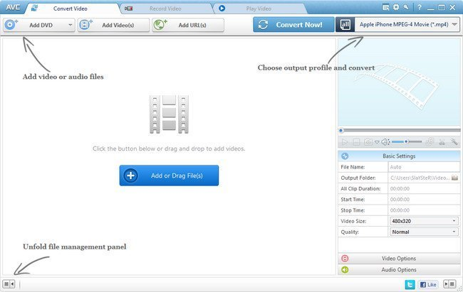 Any Video Converter Ultimate 6.2.5 Multilingual