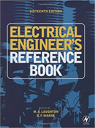 Electrical engineers reference book 16th edition