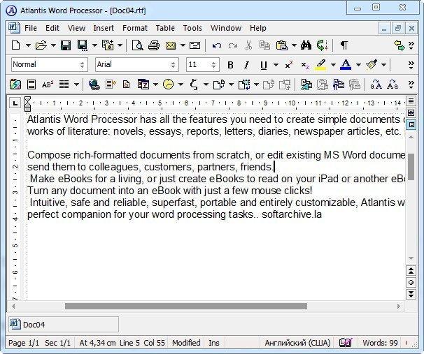 Atlantis Word Processor 3.2.12.0