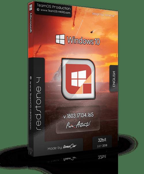 Download Windows 10 Pro Rs4 1803 17134 165 (x86) English