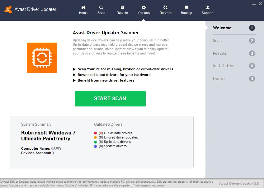 Resultado de imagen para Avast Driver Updater 2.3.3