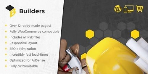 MyThemeShop – Builders v1.2.4 – Best WordPress Theme For Construction Websites, Architectural Firms, & Building Freelancers