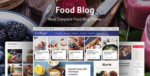 ThemeForest – Food Blog v1.0.2 – WordPress theme for personal food recipe blog