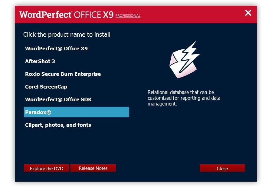 Corel WordPerfect Office X9 Professional 19.0.0.325