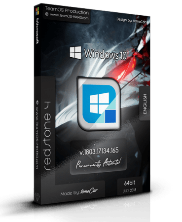 Windows 10 Pro Rs4 1803.17134.165 (x64) English Permantly Activated July 2018