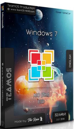 Windows 7 Sp1 AIO (x86/x64) 11in1 July 2018