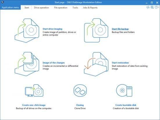 O&O DiskImage Professional / Workstation / Server Edition 12.2 Build 176