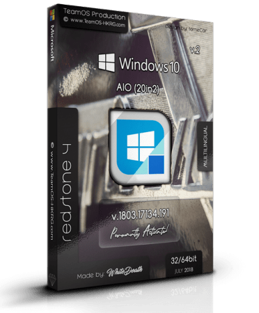 Windows 10 Rs4 1803.17134.191 Aio (x86-x64) 20in2 Multilingual Permantly Preactivated July 2018