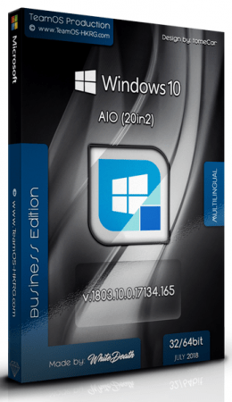 Download Windows 10 Rs4 v1803 17134 165 AIO (x86/x64) 20in2