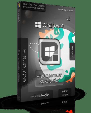 Windows 10 x64 Redstone 4 1803 Build 17134.137 v2 June 2018