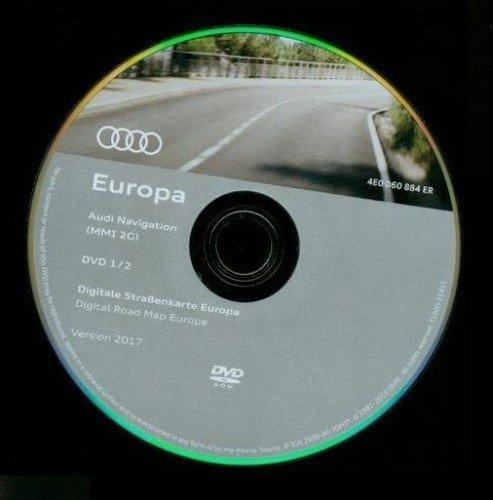 Download Audi Navigation MMI 2G DVD East West Europe 2018