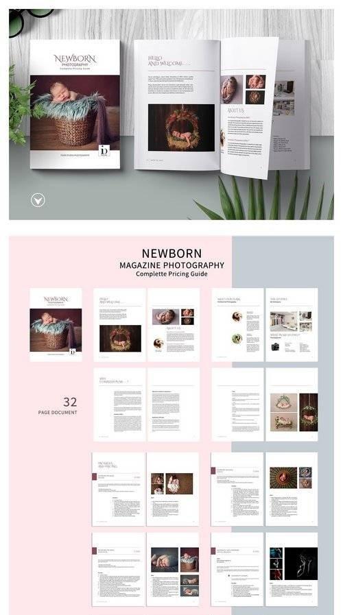 Download Newborn Studio Magazine Template 2840518 - SoftArchive