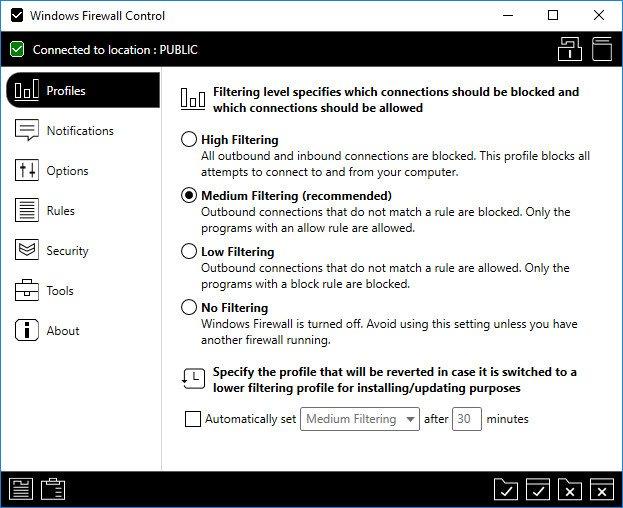 Windows Firewall Control 5.4.0.0 Multilingual