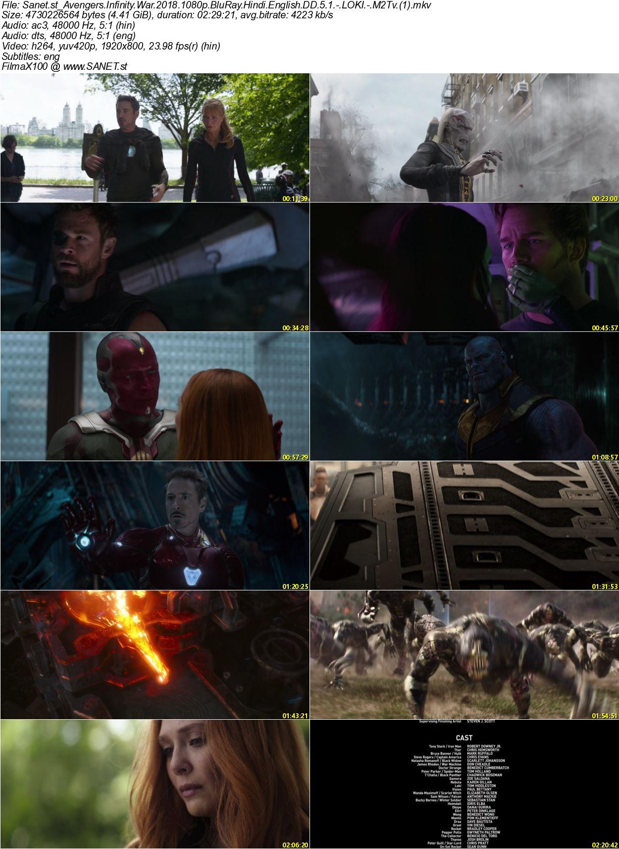 Download: Avengers: Infinity War English Subtitle (2019 ...